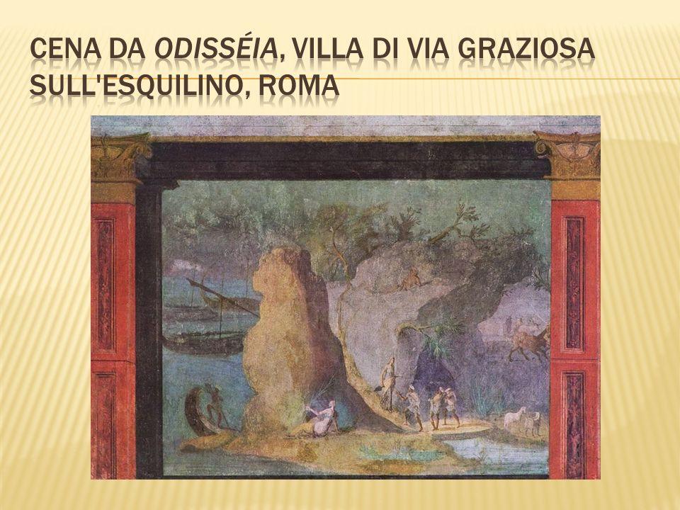 Cena da Odisséia, Villa di via Graziosa sull Esquilino, Roma