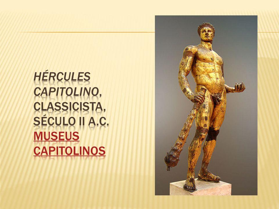 Hércules Capitolino, classicista, século II a.C. Museus Capitolinos
