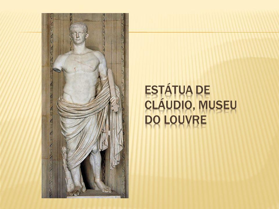 Estátua de Cláudio, Museu do Louvre