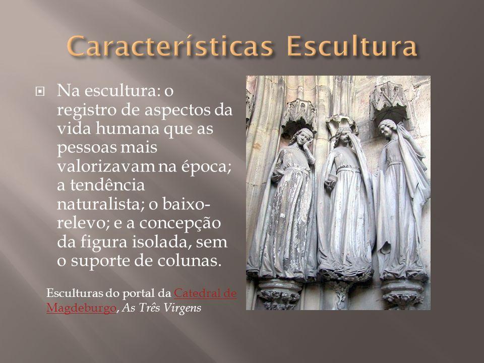 Características Escultura