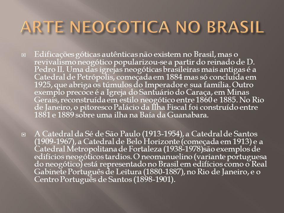 ARTE NEOGOTICA NO BRASIL