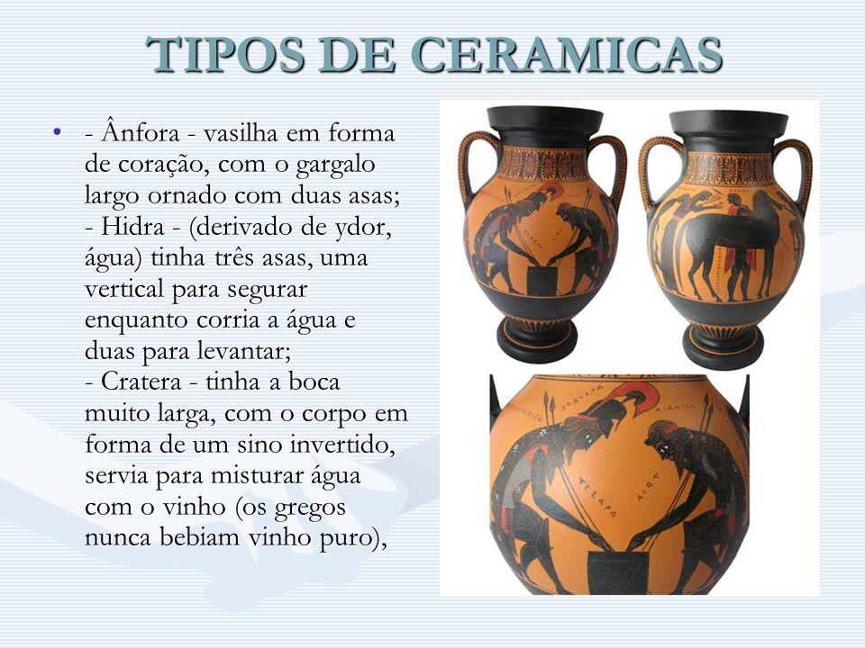 TIPOS DE CERAMICAS