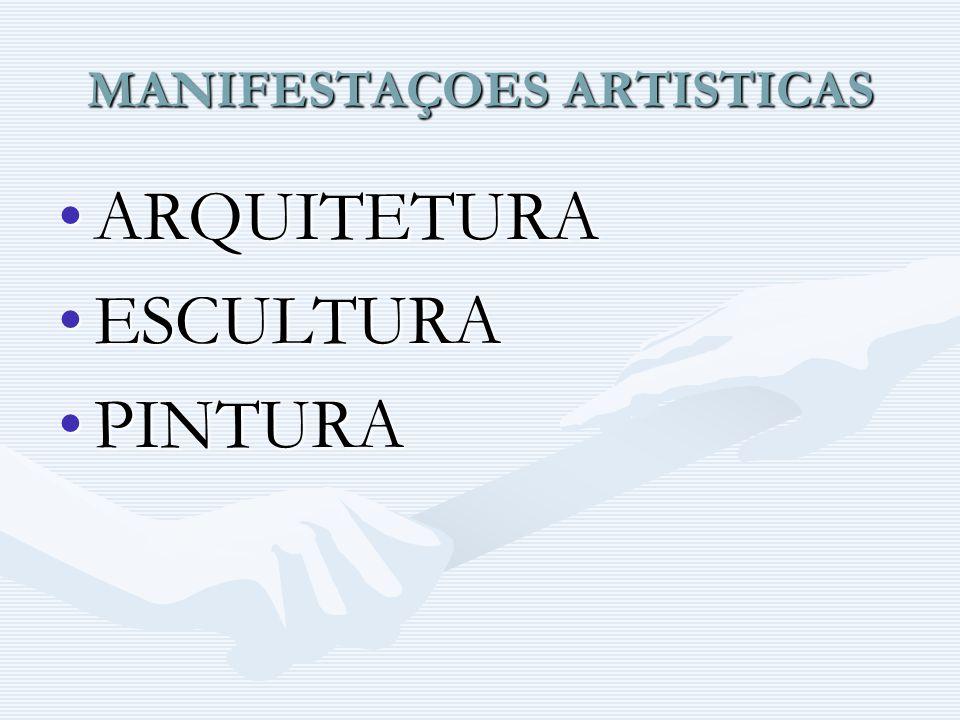 MANIFESTAÇOES ARTISTICAS