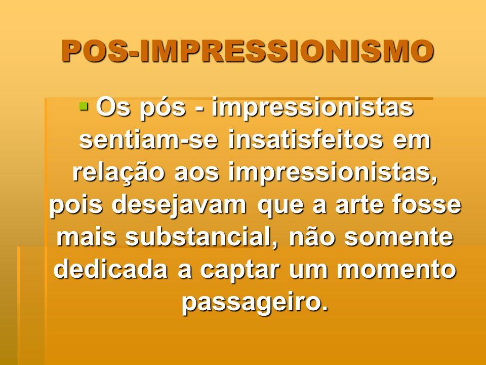 POS-IMPRESSIONISMO