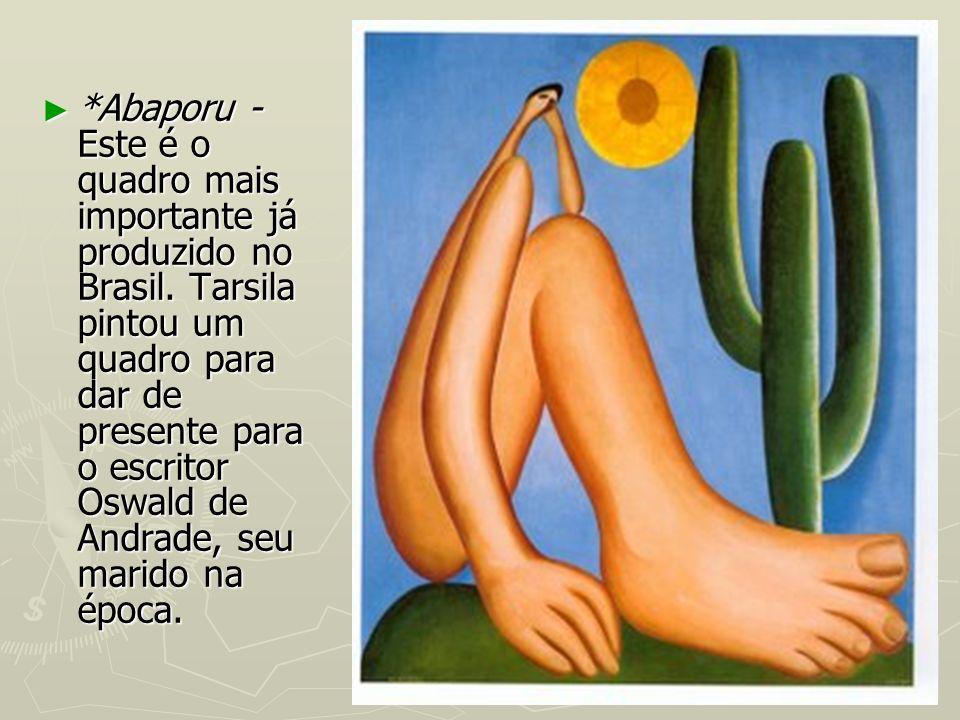 Abaporu - Este é o quadro mais importante já produzido no Brasil