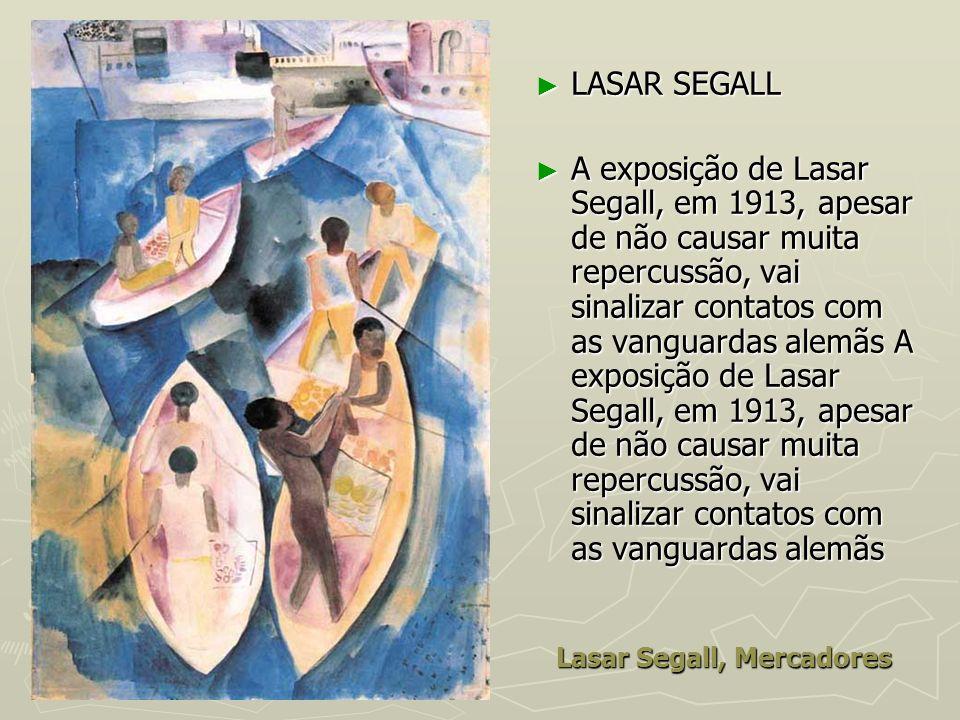 Lasar Segall, Mercadores