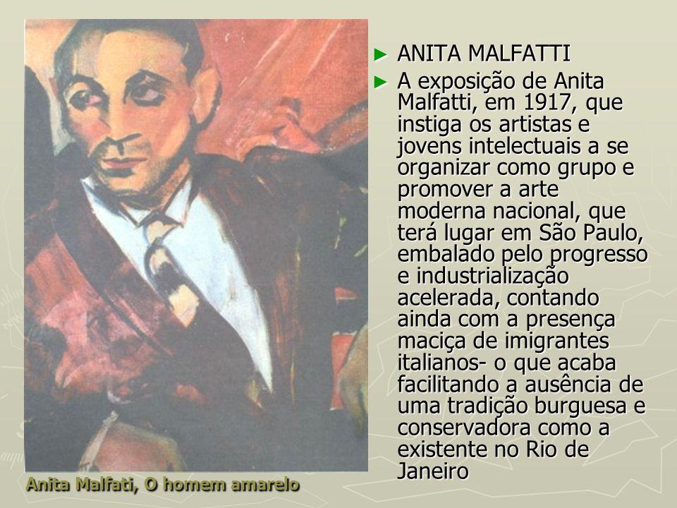 Anita Malfati, O homem amarelo