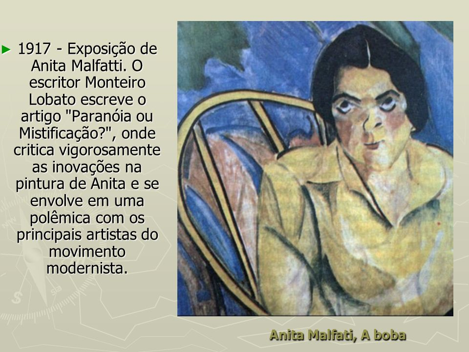 1917 - Exposição de Anita Malfatti