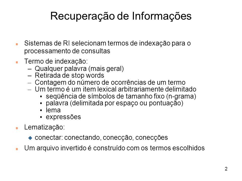 Recuperação de Informações
