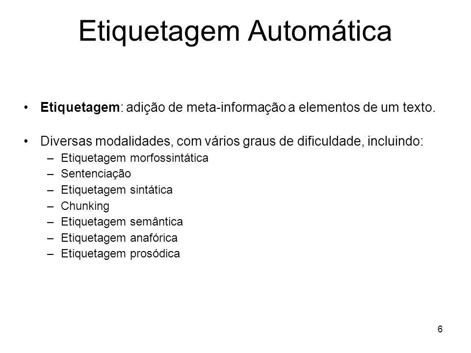 Etiquetagem Automática