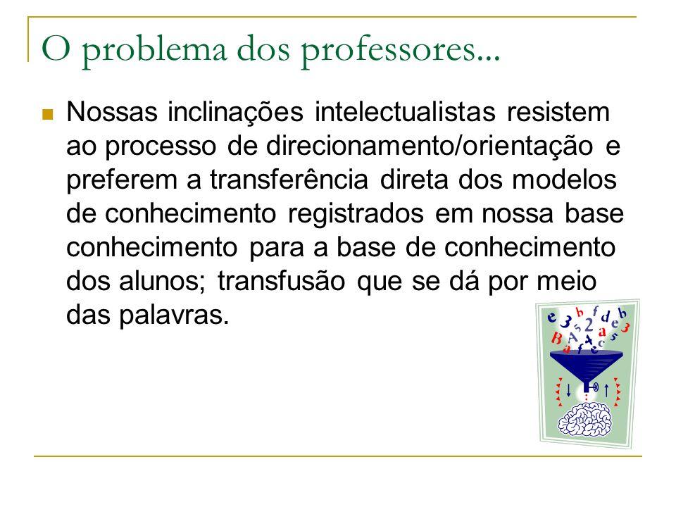 O problema dos professores...