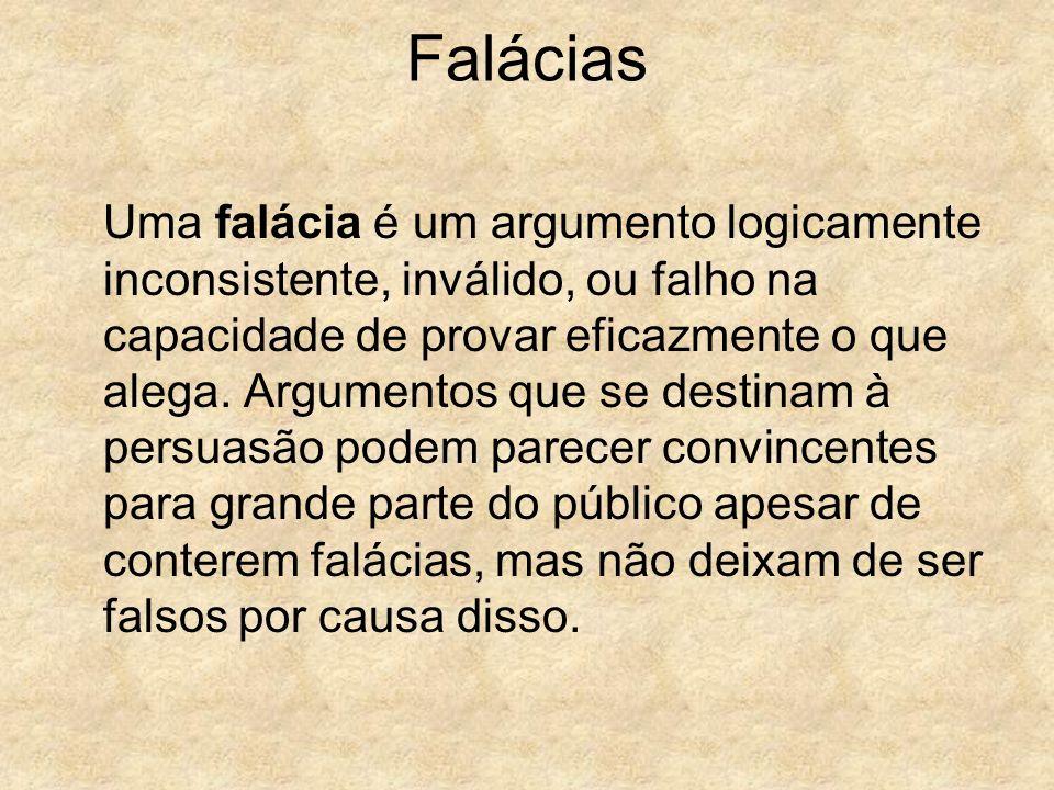 Falácias