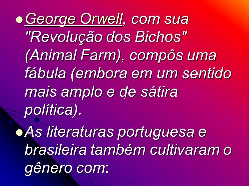 As literaturas portuguesa e brasileira também cultivaram o gênero com: