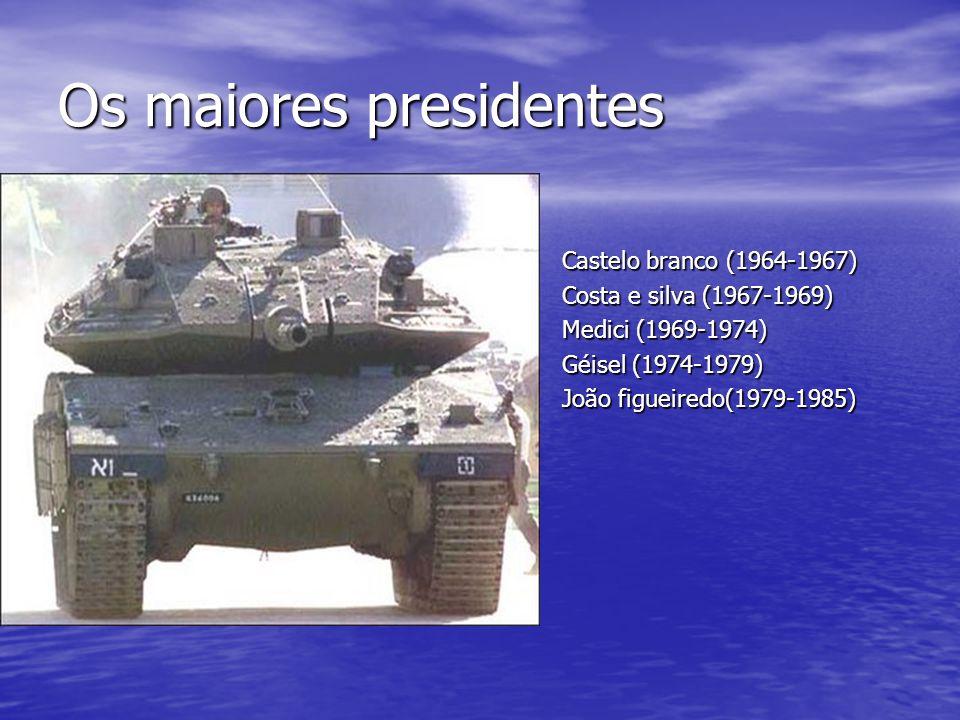 Os maiores presidentes