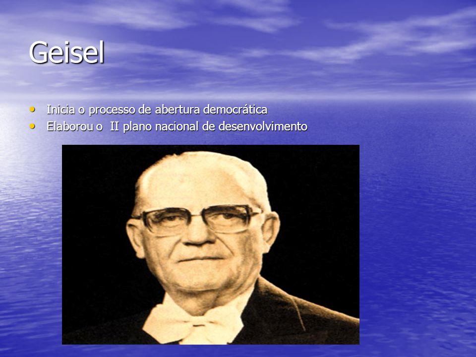 Geisel Inicia o processo de abertura democrática