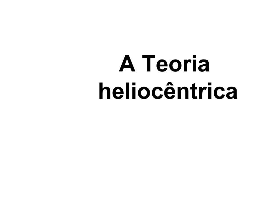 A Teoria heliocêntrica