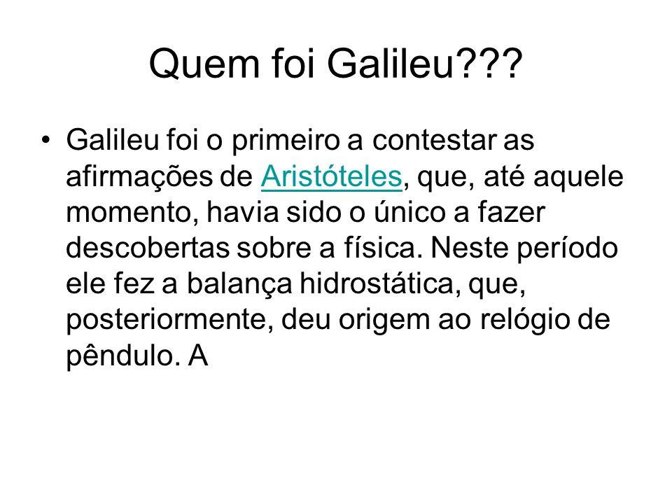 Quem foi Galileu