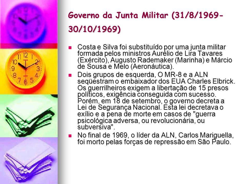 Governo da Junta Militar (31/8/1969-30/10/1969)
