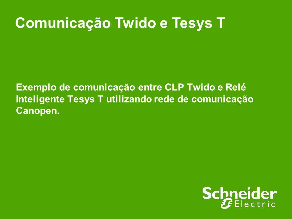 Comunicação Twido e Tesys T