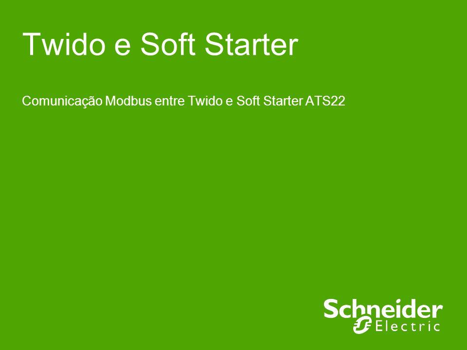 Comunicação Modbus entre Twido e Soft Starter ATS22