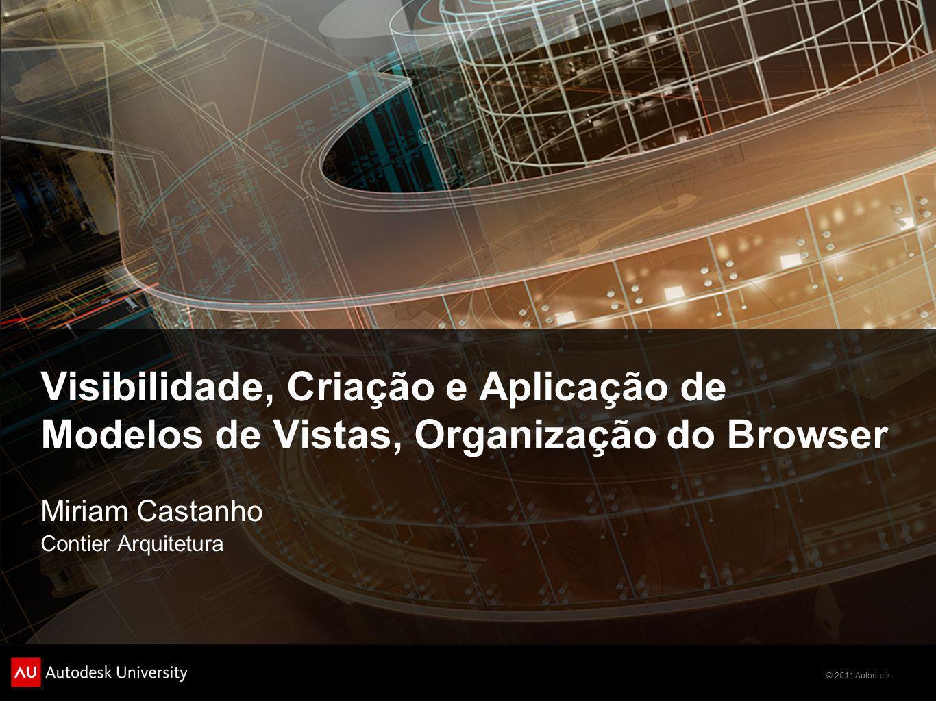 Visibilidade, Criação e Aplicação de Modelos de Vistas, Organização do Browser