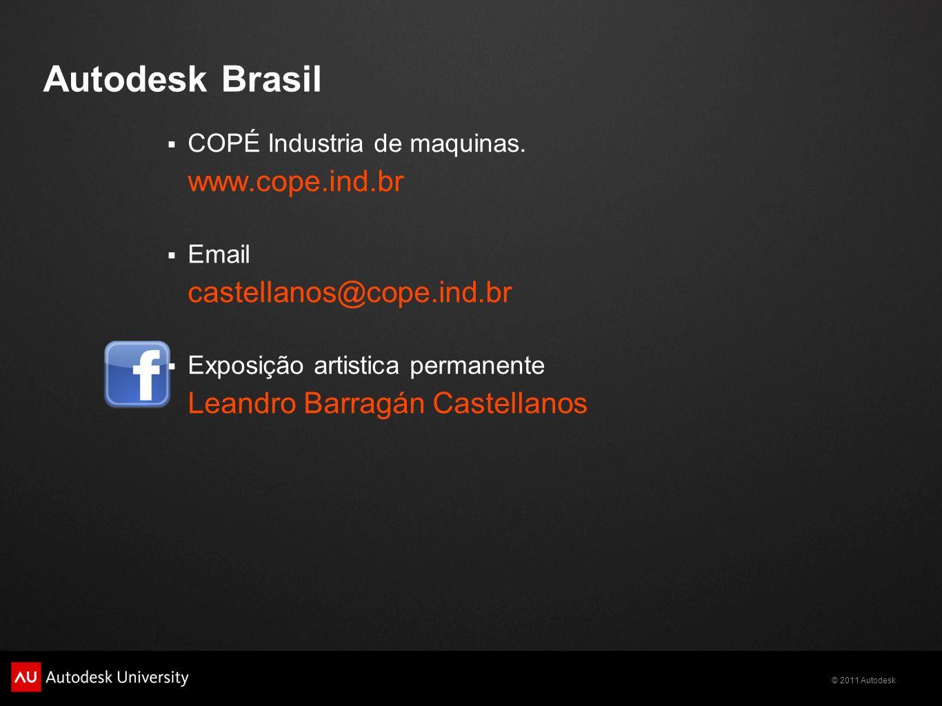 Autodesk Brasil www.cope.ind.br castellanos@cope.ind.br
