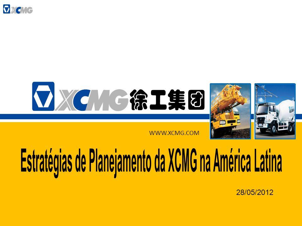 Estratégias de Planejamento da XCMG na América Latina