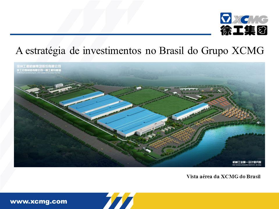 A estratégia de investimentos no Brasil do Grupo XCMG