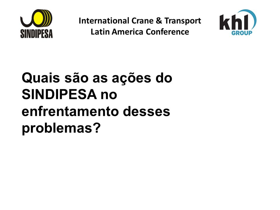 International Crane & Transport Latin America Conference