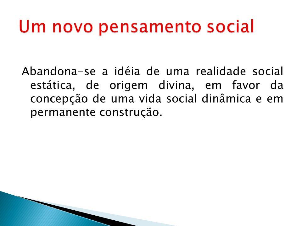 Um novo pensamento social