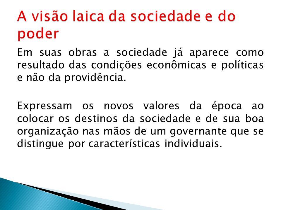 A visão laica da sociedade e do poder