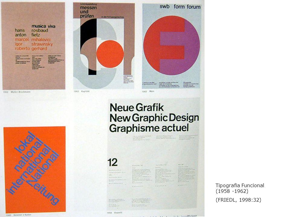 Tipografia Funcional (1958 -1962)