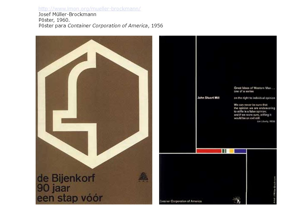 http://www.imon.org/mueller-brockmann/ Josef Müller-Brockmann Pôster, 1960.