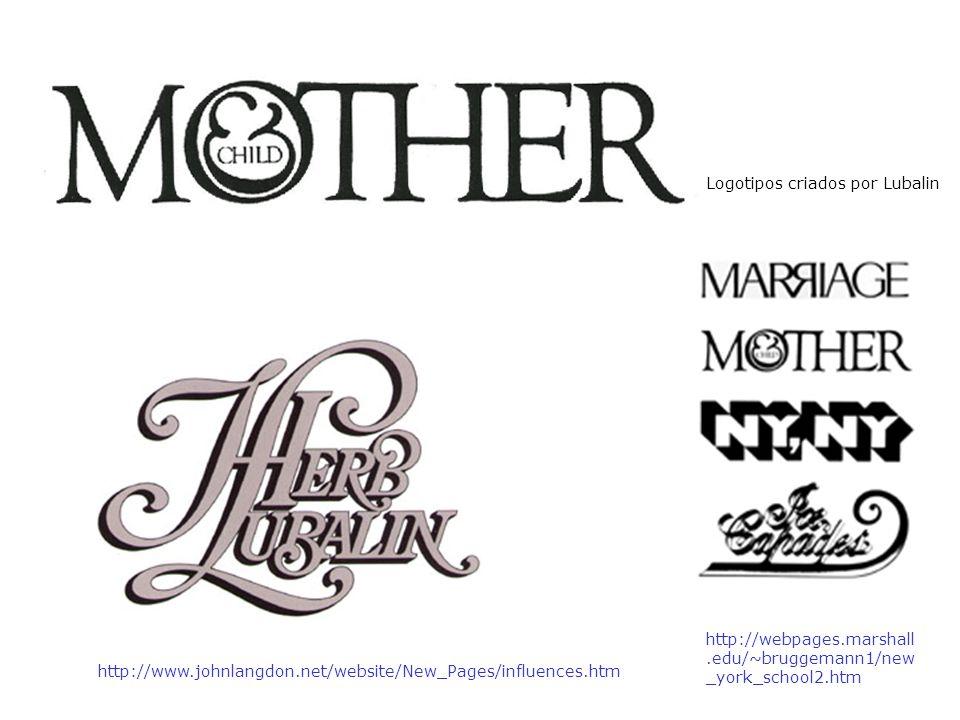 Logotipos criados por Lubalin