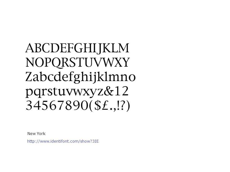 New York http://www.identifont.com/show 3IE