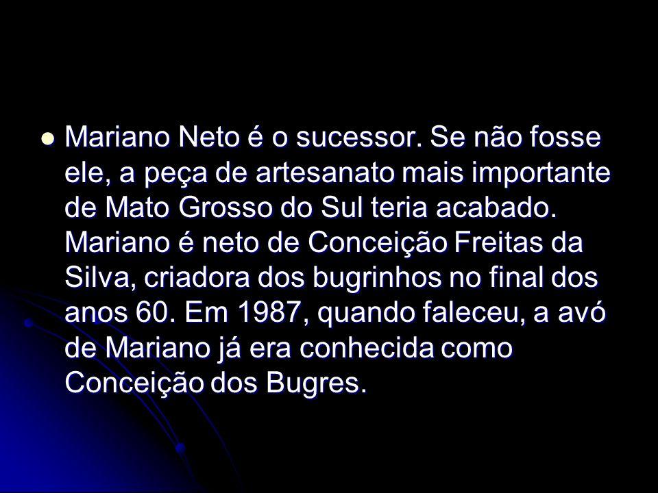 Mariano Neto é o sucessor