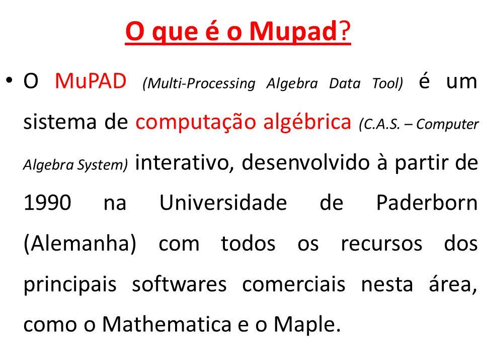 O que é o Mupad