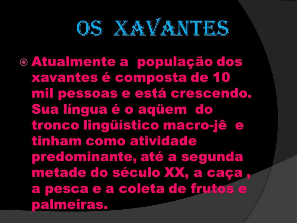 OS XAVANTES