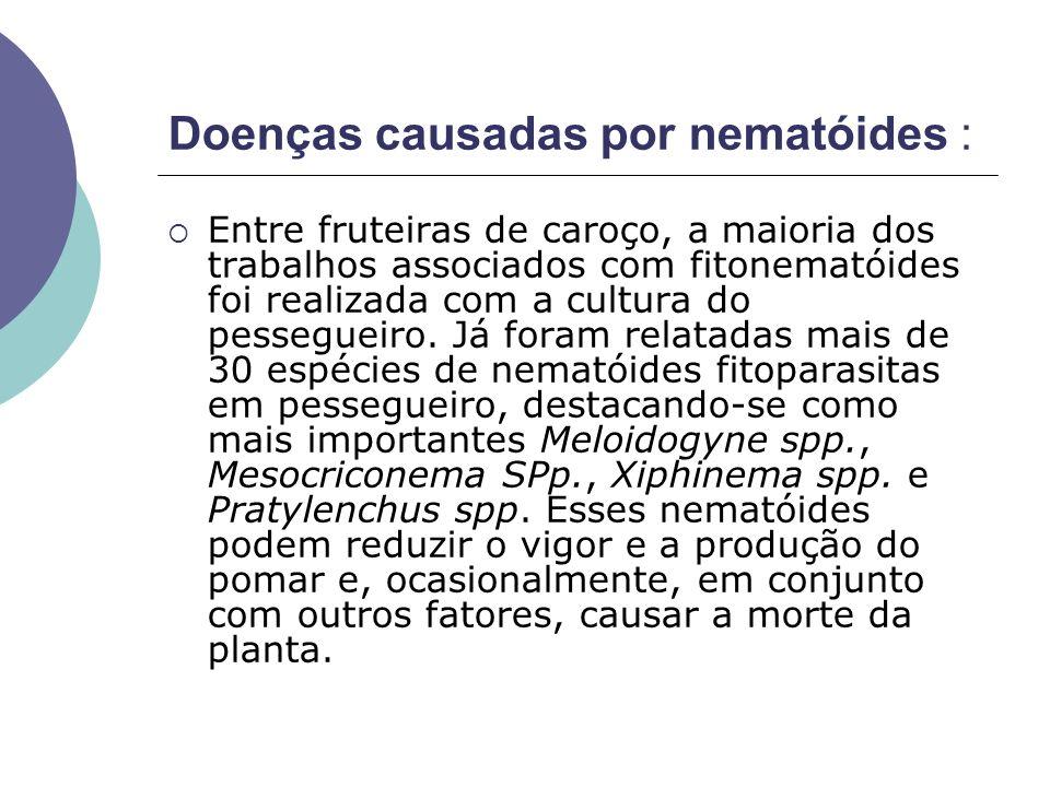 Doenças causadas por nematóides :