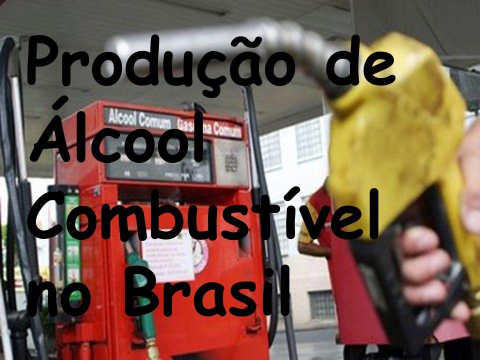 Produção de Álcool Combustível no Brasil