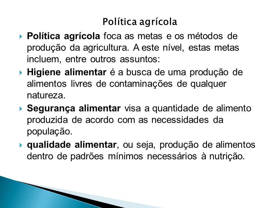 Política agrícola