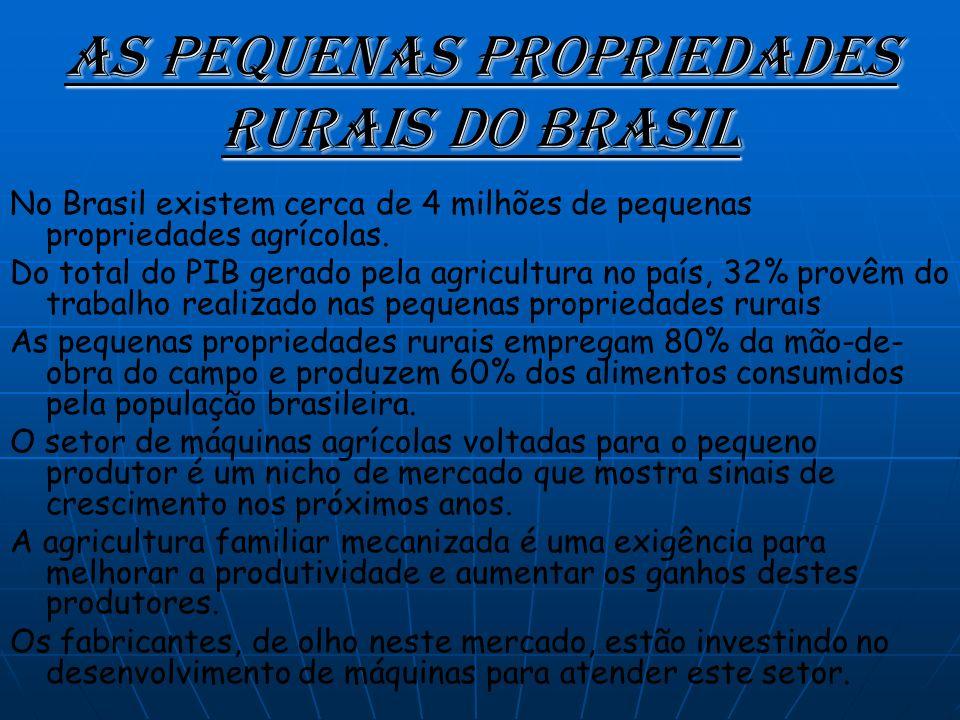 As Pequenas Propriedades Rurais do Brasil