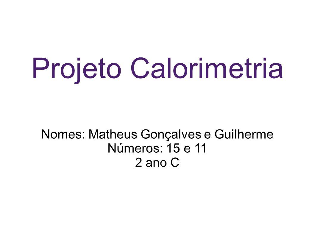 Nomes: Matheus Gonçalves e Guilherme