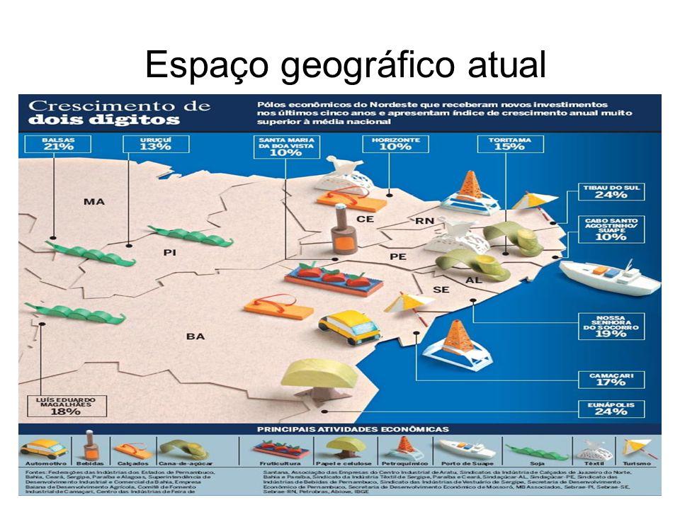 Espaço geográfico atual