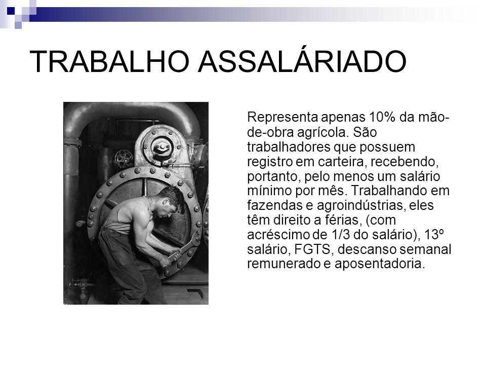 TRABALHO ASSALÁRIADO