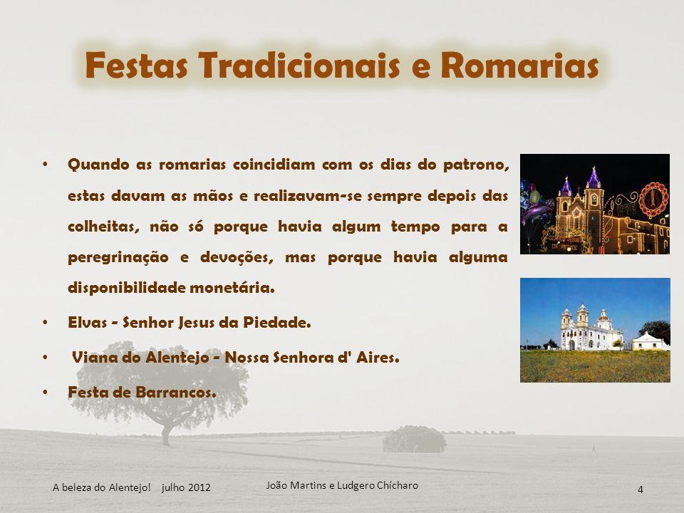 Festas Tradicionais e Romarias