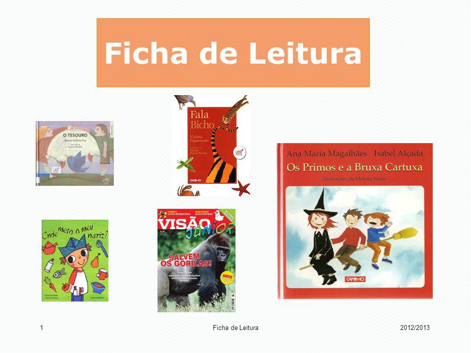 Ficha de Leitura Ficha de Leitura 2012/2013