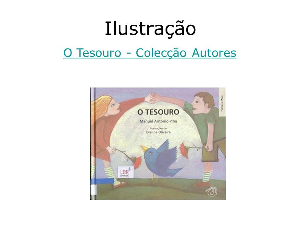 Ilustração O Tesouro - Colecção Autores