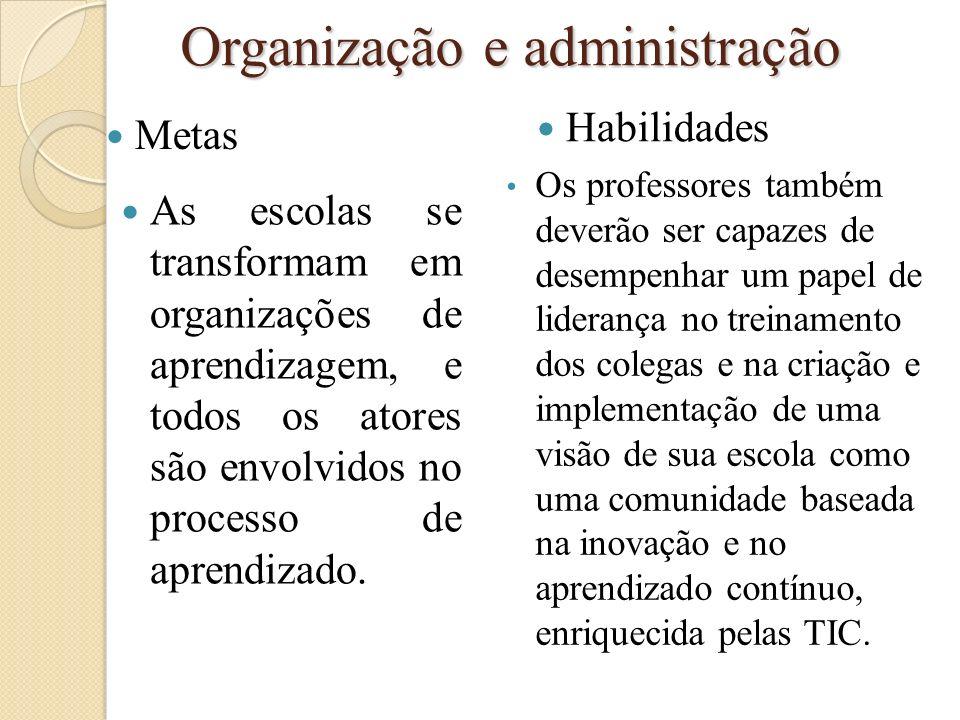 Organização e administração