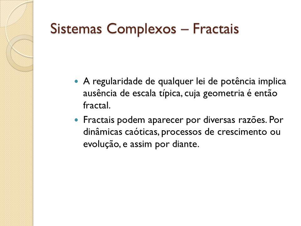 Sistemas Complexos – Fractais